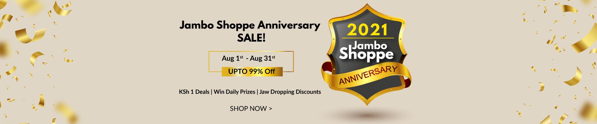 Jambo Shoppe Anniversary
