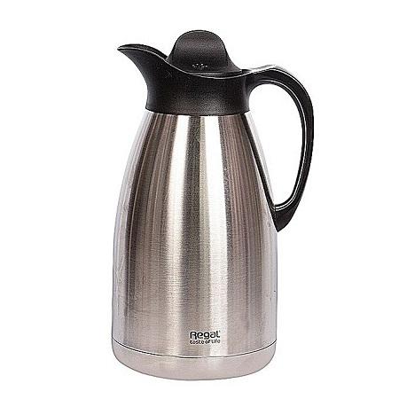 Regal Executive Vacuum Flask - 2.0Litres - Silver