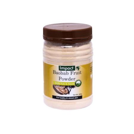 Impact Baobab Fruit Powder 300g 100% Pure& Healthy