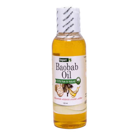 Impact Baobab Oil 100% Pure And Natural-120ml