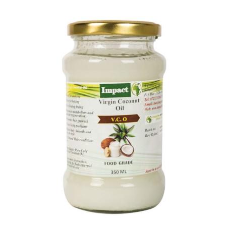 Impact Coconut Oil Pure Virgin Coconut Oil 350ml