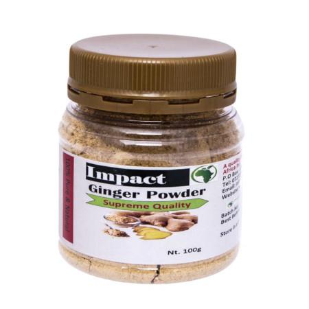 Impact Ginger Powder Dry Organic Ginger Powder-100g