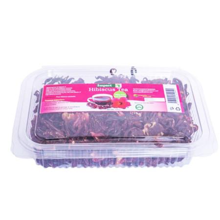 Impact Hibiscus Tea Petals Organic 100% Pure & Healthy-100gm