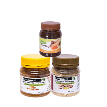 Impact Honey And Natural Spice Home Remedy
