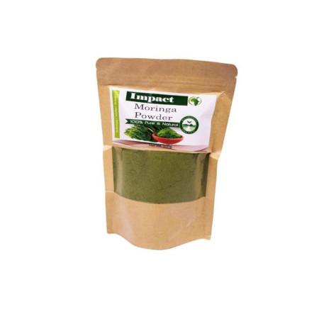 Impact Moringa Powder Organic Moringa Leaf Powder 200g