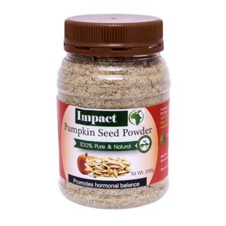 Impact Pumpkin Seeds Powder Organic Healthy And 100% Pure - 400gm