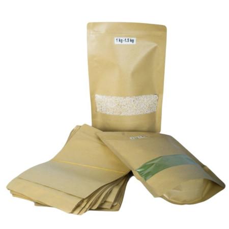 Kraft Pouch Packaging 1kg-1.5 Kg