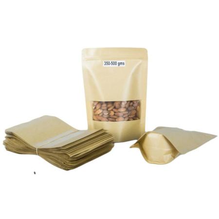 Kraft Pouch Packaging 600-800gms