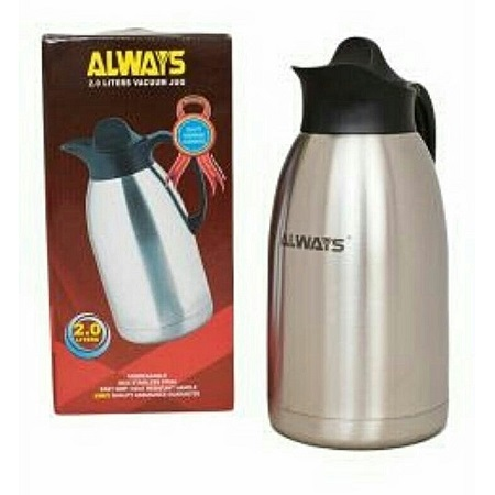 UNbreakable thermos silver 2ltrs