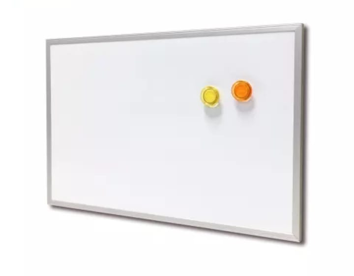 Wall Mounted Whiteboards 4*4 ft - Dry Erase