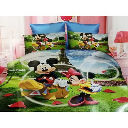 3PC Cartoon Duvet Set multicolour 4*6