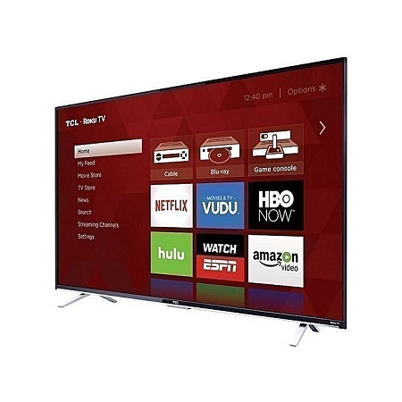 TCL 43S6500 - 43 Inch - ROKU ANDROID Full HD Smart LED TV - Black.