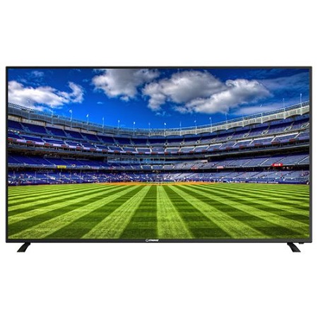 Ctroniq 55 Inch 4K Ultra HD Smart LED TV - 3 HDMI - 2 USB - Black.