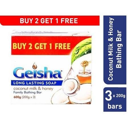 Geisha White & Honey Value Pack (3x200g)