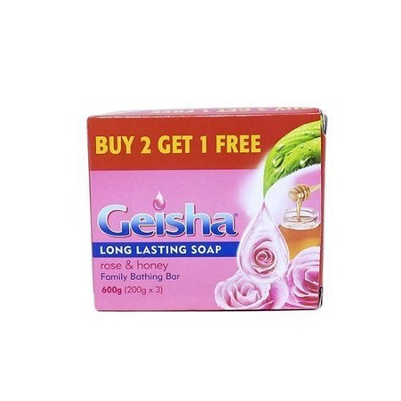 Geisha Pink & Honey Value Pack (3x200g)
