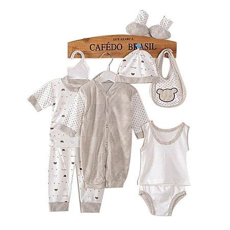 8 Piece Baby Cloth Set- unisex