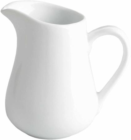 Big White Ceramic Jug