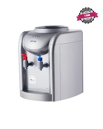 ARMCO AD-14THC(SL) Water Dispenser, Hot & COOL, Silver.
