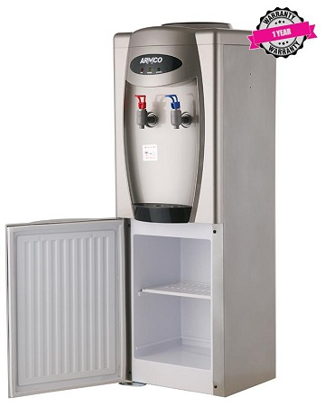 ARMCO AD-16FHC(S) - 16L Water Dispenser, Hot & Cold, Silver.
