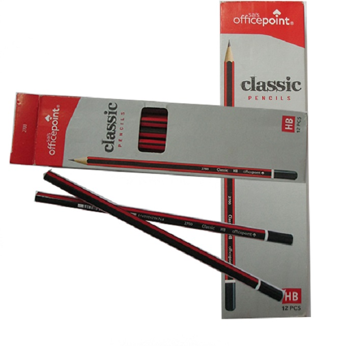 OfficePoint Classic Strip Pencil HB 2700