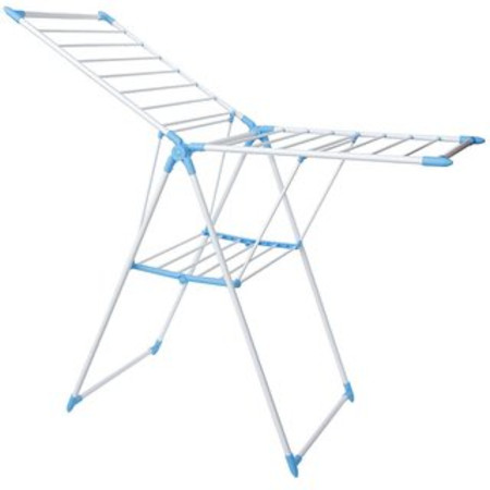 Drying rack box white and blue