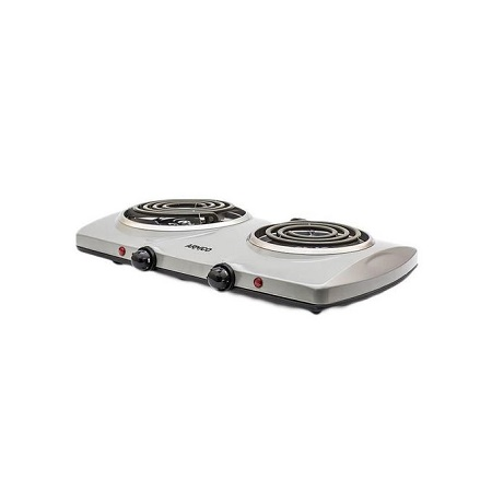 Armco AEC-C20(S) - 2 Burner Spiral Electric Hot Plate - Grey
