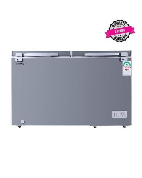 ARMCO AF-C38(K) - 342L, Double Door Chest Freezer, Coolpack