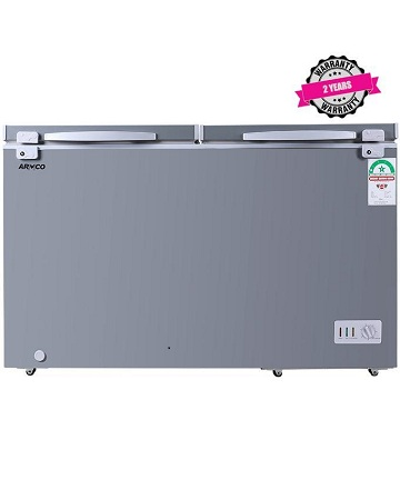 ARMCO AF-C52(K) - 430L, Double Door Chest Freezer, Coolpack