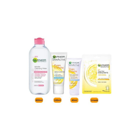 Garnier Even & Matte Purify And Cleanse Pack