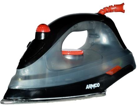 ARMCO AIR-7BD - 1600W Dry Iron - Black