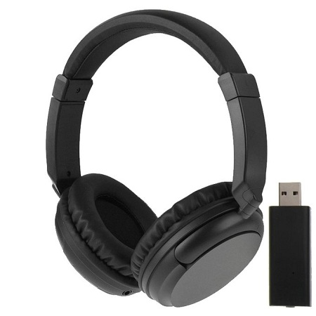 KST-900ST 2.4GHZ Wireless Music Headphone With Control Volume, Support FM Radio / AUX / MP3