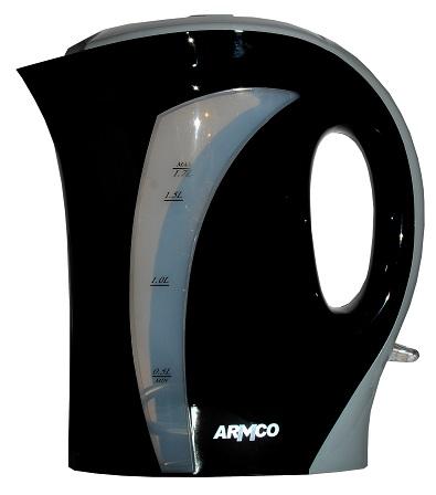 ARMCO AKT-163WD(B) - 1.7L - Cordless Electric Kettle - Black