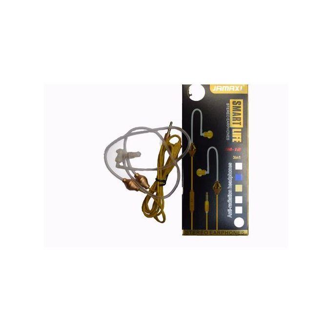 Jamax 3in1 Anti-Radiation Air Tube Earphones