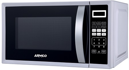 ARMCO AM-DS2033(SL) - Microwave Oven - 20L - 700W - Silver & Black
