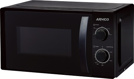 ARMCO AM-MS2023(BK) - Microwave Oven - 20L - 700W - Black