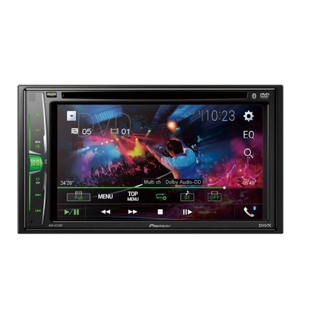 Pioneer Car Stereo AVH-A215BT With Bluetooth, USB,DVD Player