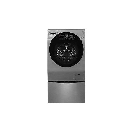 LG FH6G1BCHK6N + F8K5XNK4 - TWIN WASH 12/8Kg Front Load Washer/Dryer + 2Kg Mini Washer