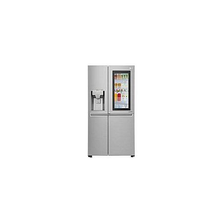 LG GC-X247CSAV - 668L/23.59 ft³ Side by Side Fridge - Platinum Silver INSTAVIEW