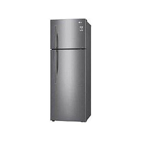 LG GL-C362RLBN -308/L Double Door Refrigerator - Shiny Steel
