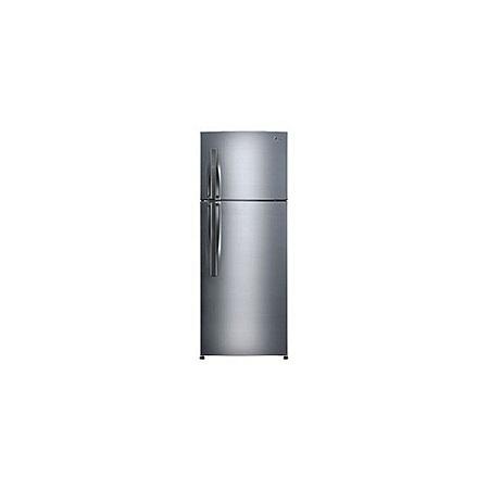 LG GL-C412RLCN - 360L/11.65 ft³ Double Door Fridge - Shiny Silver