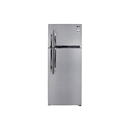 LG GL-C442RLCN - 358L/12.64 ft³ Double Door Fridge - Shiny Silver.