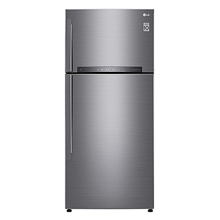LG GL-H602HLHU - 437L/15.4 ft³ Double Door Fridge - Shiny Silver