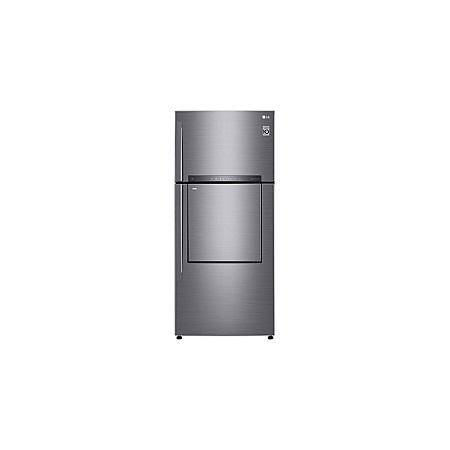 LG GN-A702HLHU - 549L/18.72 ft³ Double Door Fridge - Shiny Silver DID