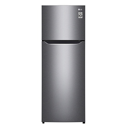 LG GN-B222SQBB - 205L/7.24 ft³ Double Door Fridge - Shiny Silver