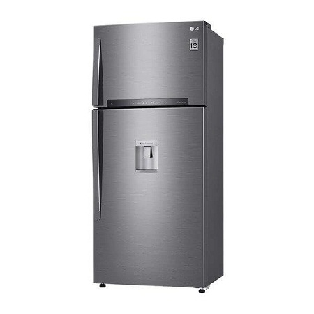 LG-GR-F872HLHU Double Door Fridge with Water Dispenser /22.46 ft³ – Shiny Silver