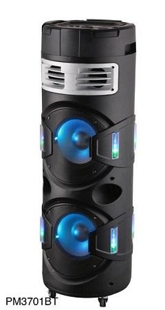PREMIER PM3701BT 2.1CH ROUND TROLLEY SPEAKER