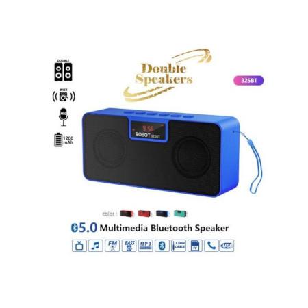 Robot 325bt Bluetooth Speaker- Black