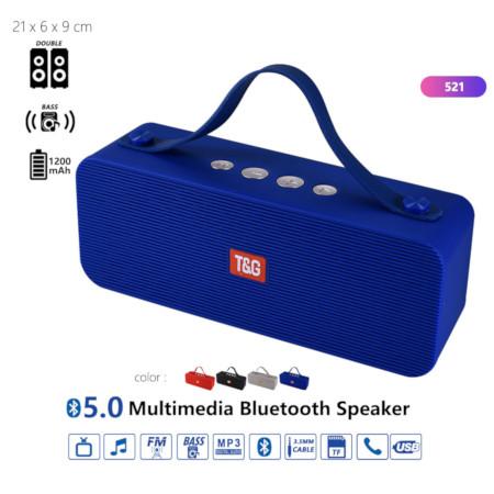 T&G 5.0 Multimedia Bluetooth Speaker 521BT