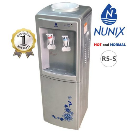 Nunix R5-S Hot And Normal Water Dispenser R5 Silver