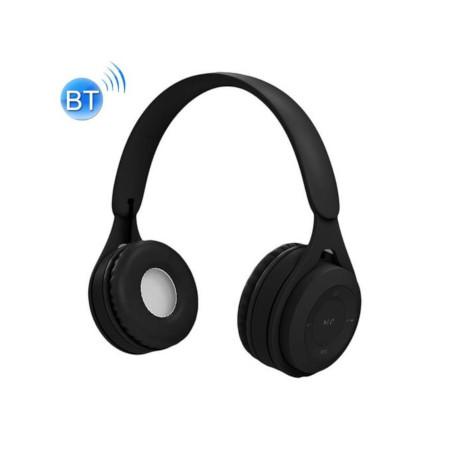 Y08 Hifi Sound Qualityaron Bluetooth Headset, Supports Calling & TF Card & 3.5mm AUX (Black)